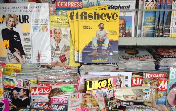 Fisheye Magazine | Fisheye est dans les kiosques