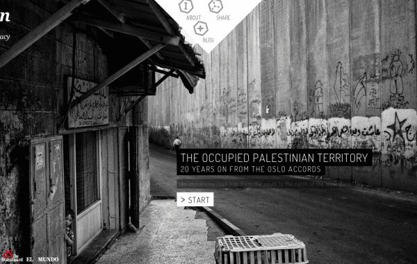 Fisheye Magazine | Le webdoc de Cédric Gerbehaye sur les accords d'Oslo