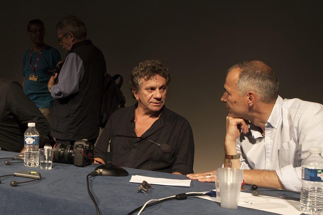 Patrick Chauvel et Yuri Koyziref ©Marie Abeille