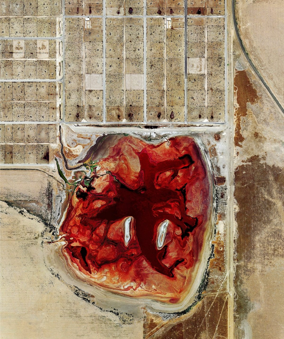 "Mishka Henner, ""Coronado Feeders, Dalhart, Texas"". ©Prix Pictet Ltd 2013/14"