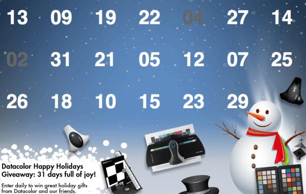 Fisheye Magazine | Gagnez des cadeaux avec le calendrier de l'Avent Datacolor