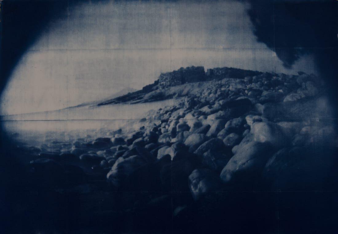 Sans titre 14, cyanotype. © Michael McCarthy.