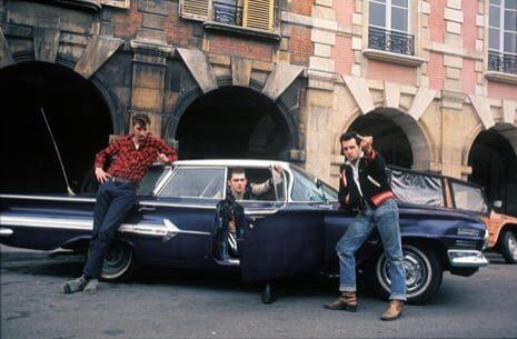 Fifties, Paris, Place des Vosges, 1975. © Yan Morvan.