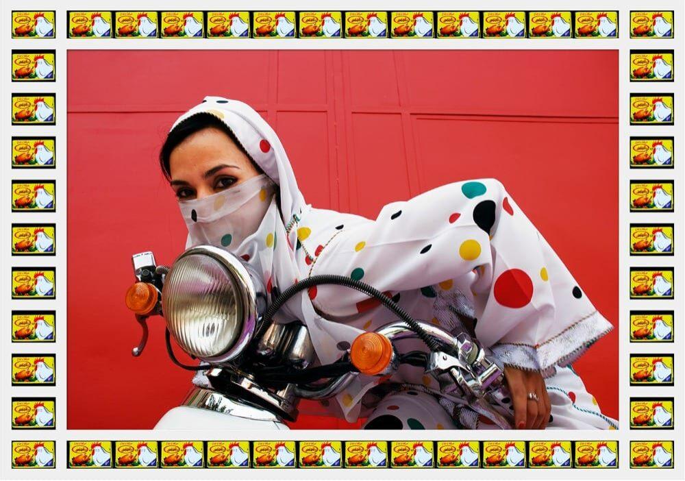 Rider. © Hassan Hajjaj.