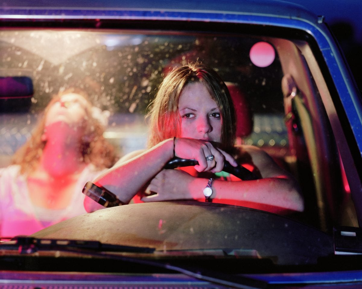 Angela Strassheim Untitled (Girls in Pickup), 2006. The artist and Andrea Meislin Gallery