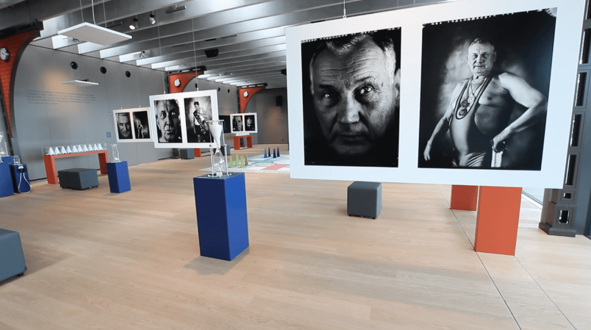 Tomasz Gudzowaty exposition musee olympique