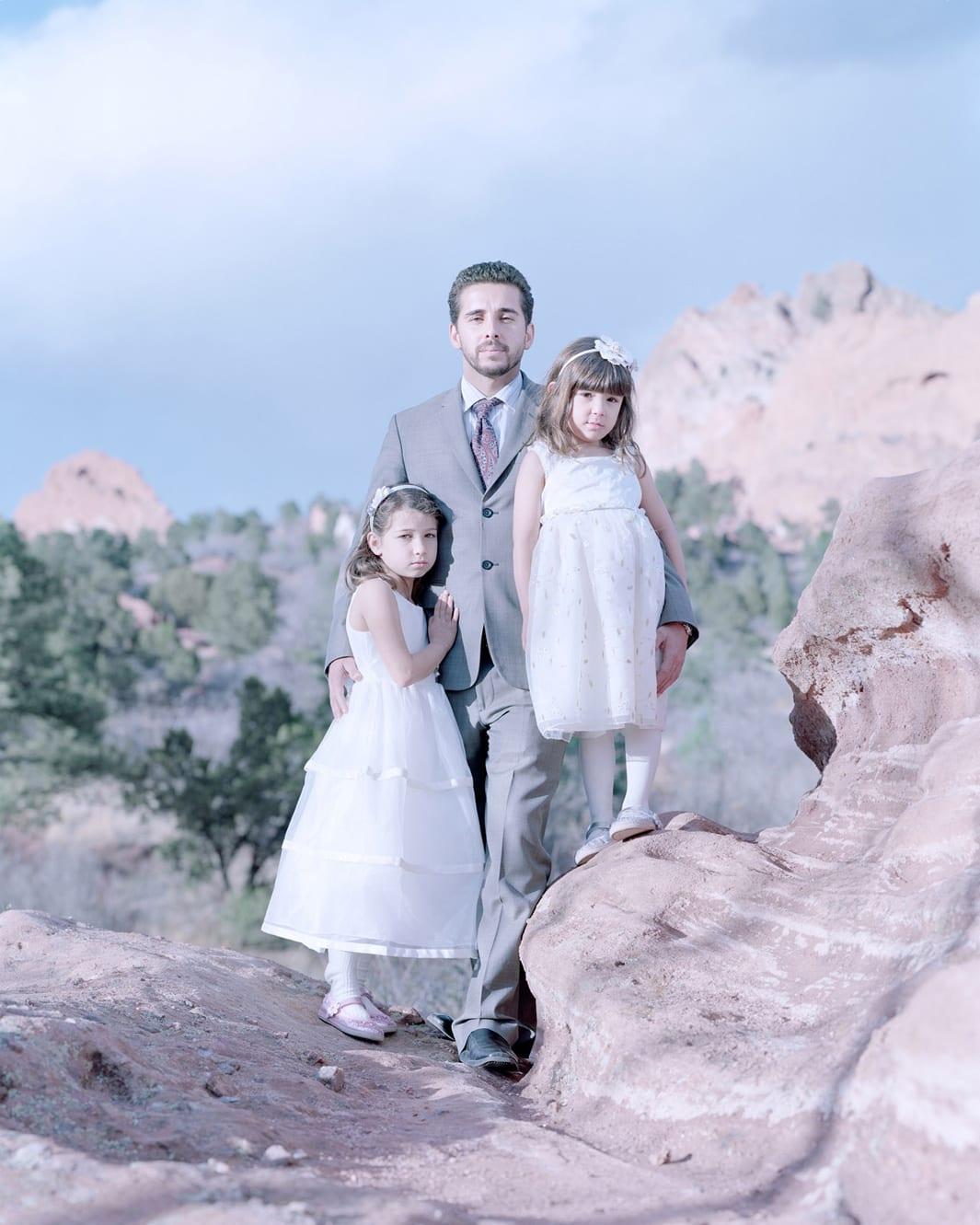Laila, Antonio and Maya Sa, Colorado Springs, Colorado.