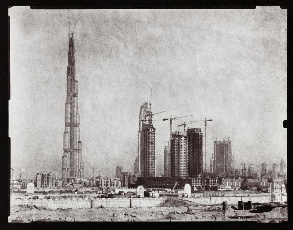 © Martin Becka, Dubai transmutations 2008 tirage contact papier