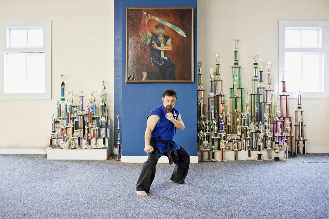 John Morrow. Morrow's Academy of Martial Arts. Moline, IL