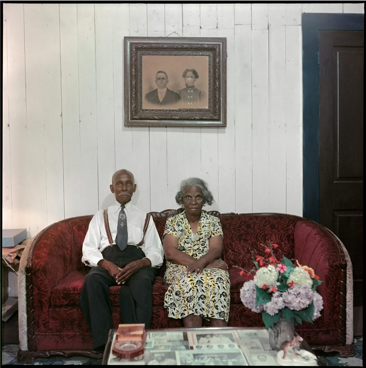 Gordon Parks (American, 1912–2006), Mr. and Mrs. Albert Thornton, Mobile, Alabama, 1956, courtesy of and copyright The Gordon Parks Foundation.