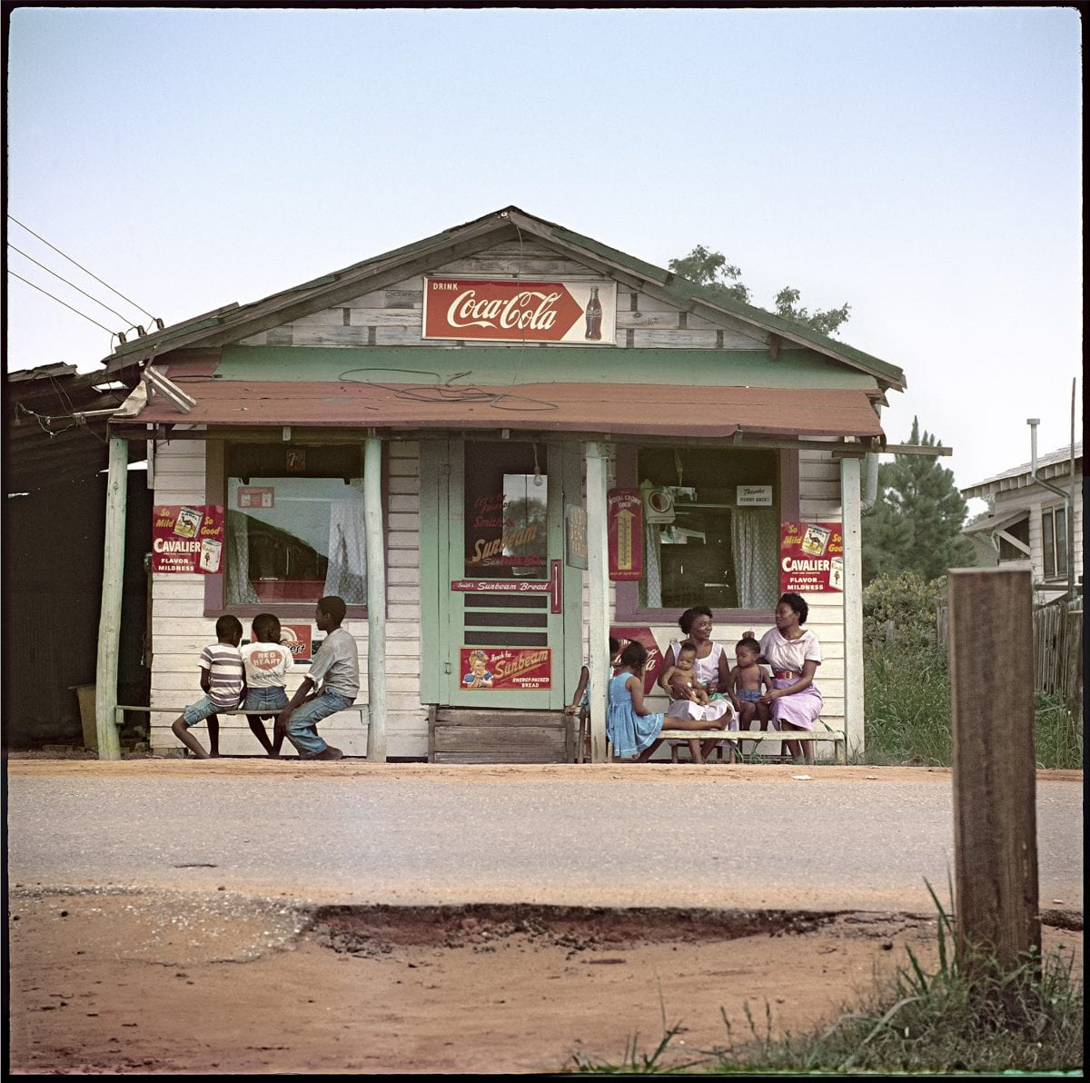 Gordon Parks (American, 1912–2006), Store Front, Mobile Alabama, 1956, courtesy of and copyright The Gordon Parks Foundation