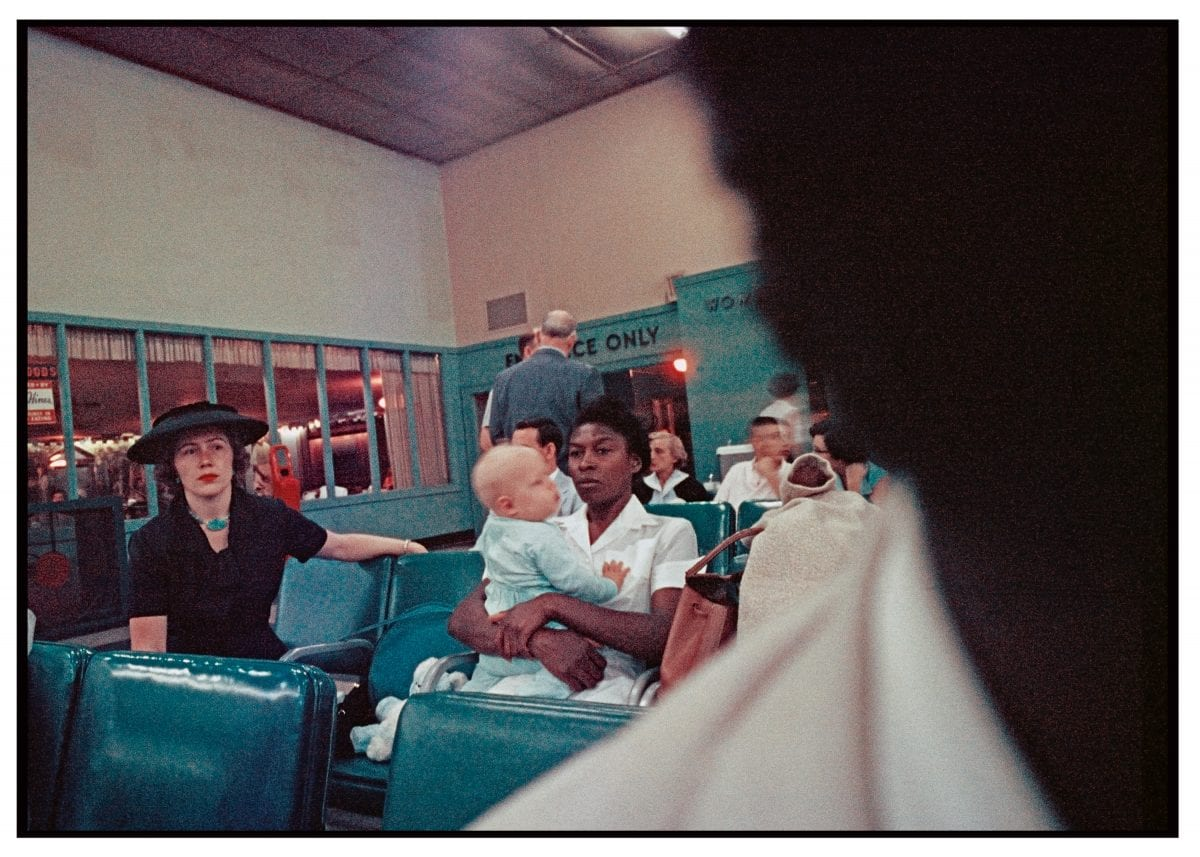Gordon Parks (American, 1912–2006), Airline Terminal, Atlanta, Georgia, 1956, courtesy of and copyright The Gordon Parks Foundation.
