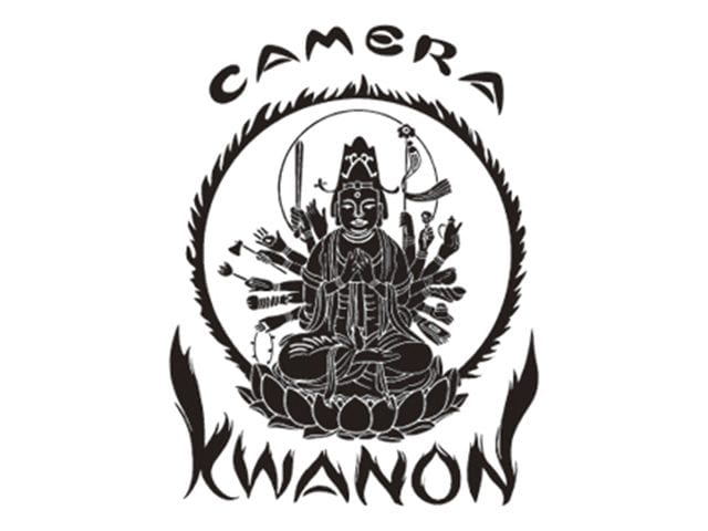 La déesse aux mille bras, Kwannon, est gravée sur le dessus du boîtier © Canon