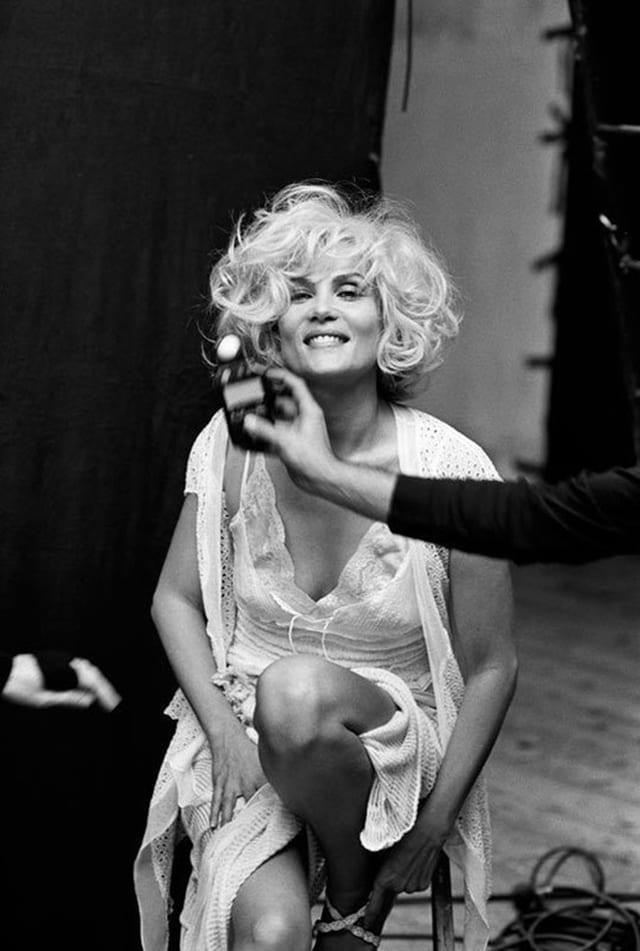 Emmanuelle Seigner © Peter Lindbergh