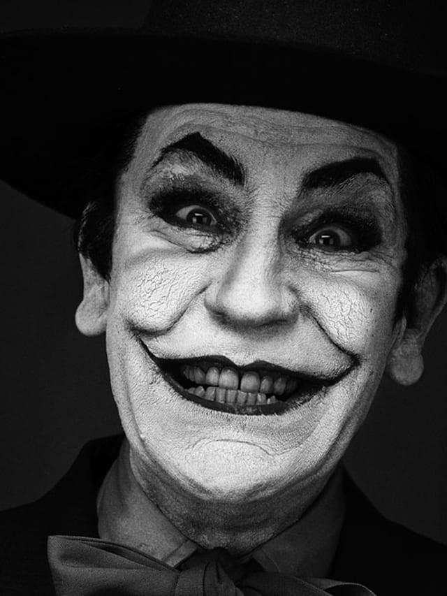John Malkovich. Jack Nicholson, 2014. D'après la photo d'Herb Ritts (1988) © Sandro Miller