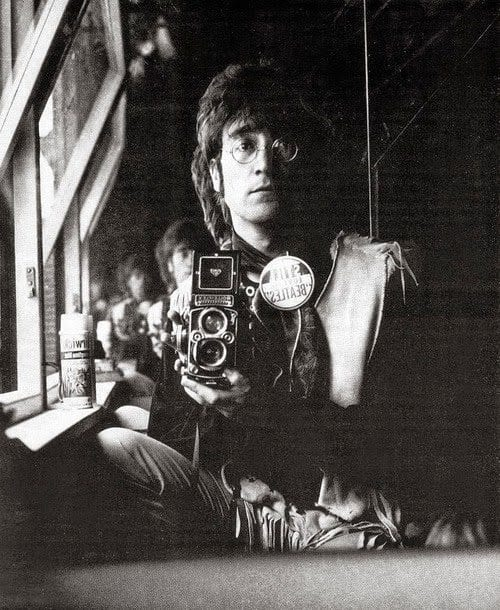 Lennon with Camera