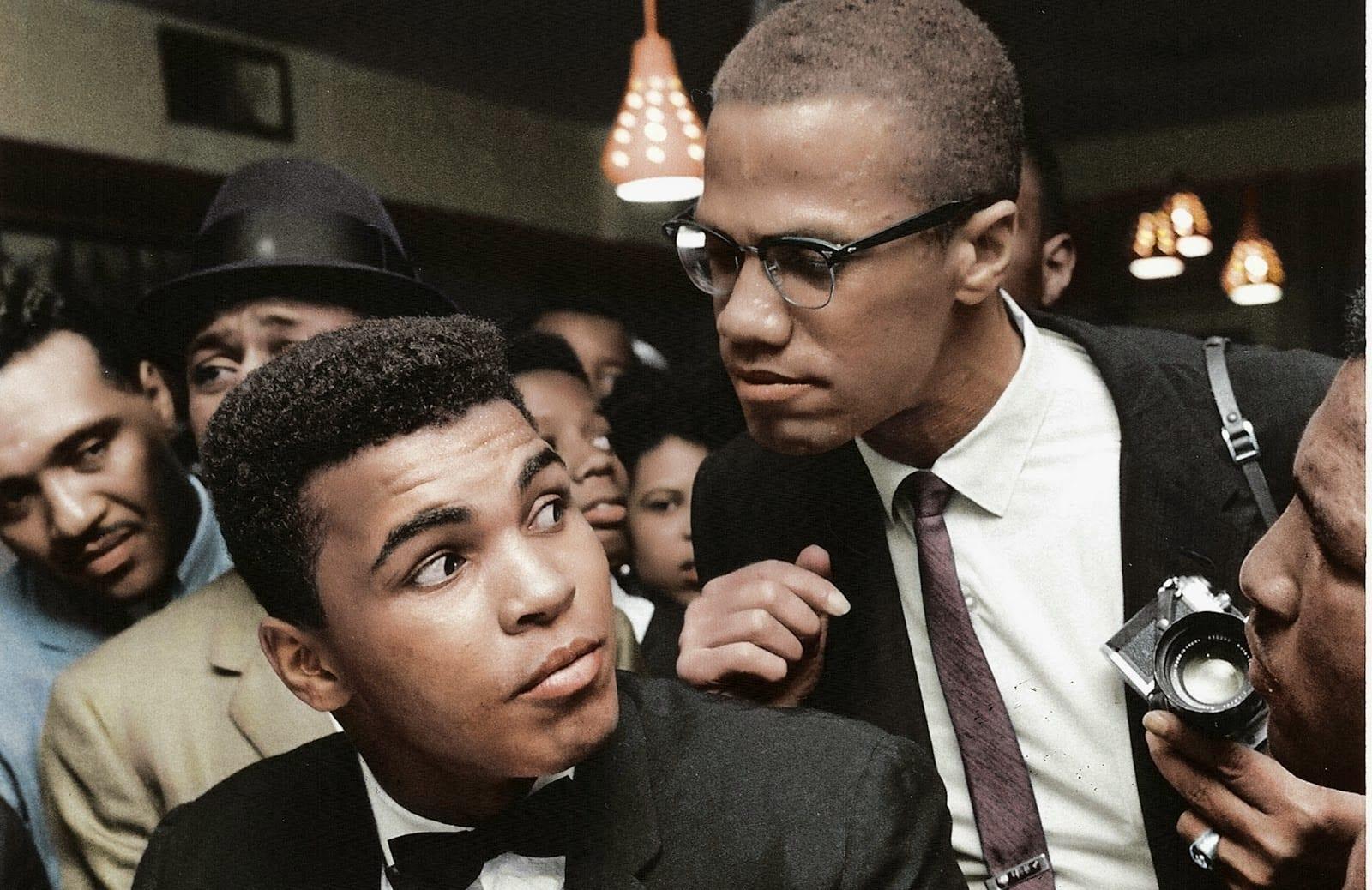 Malcom-X-Muhammed Ali