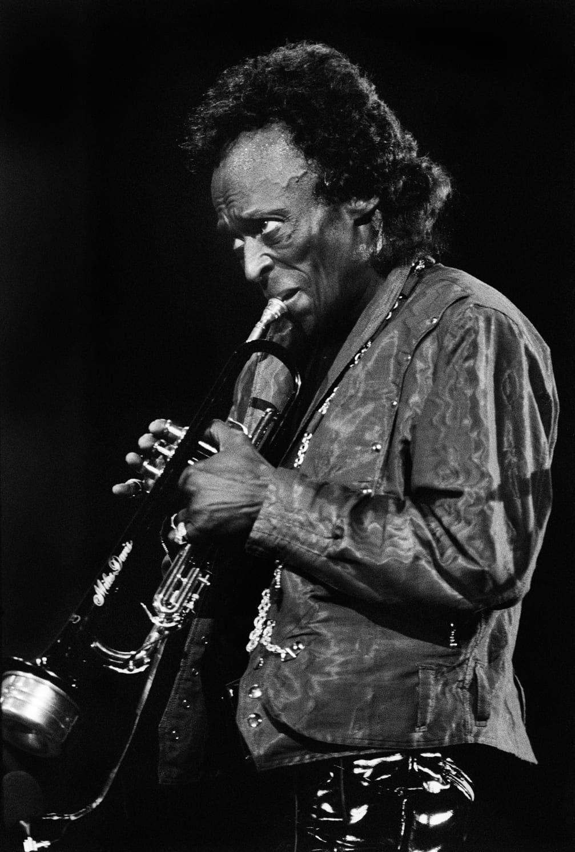 Miles Davis © Gilles Rigoulet