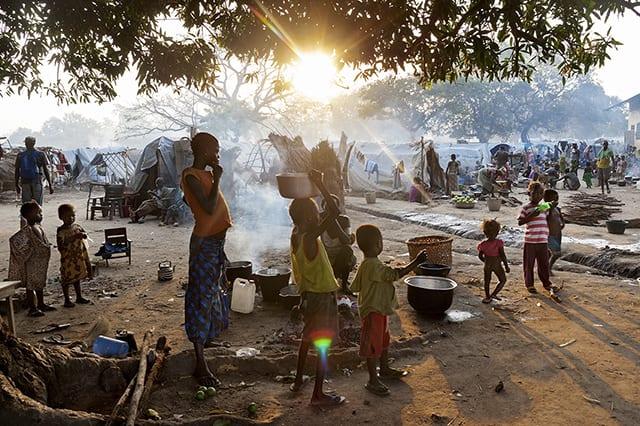 Des réfugiés dans la région de Bossangoa © Camille Lepage