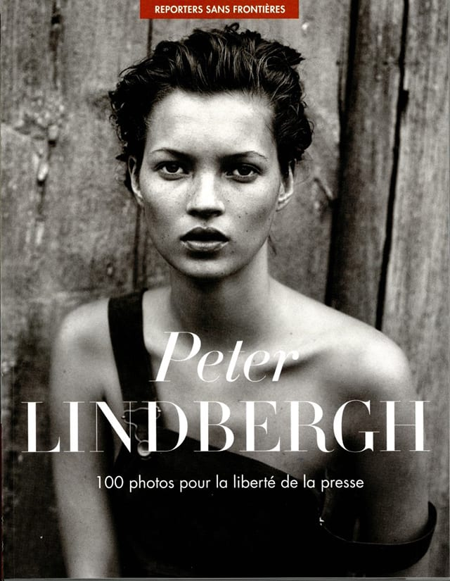 Kate Moss en couverture © Peter Lindbergh