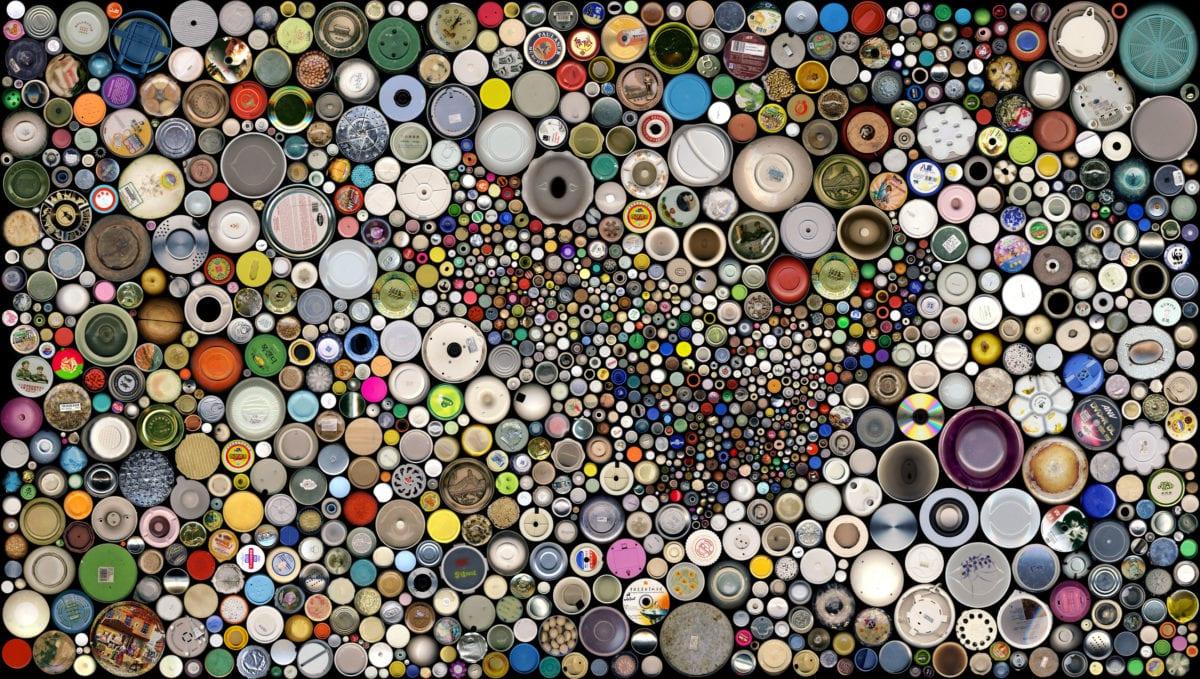 Abut Circle No.4 170x300cm 2008