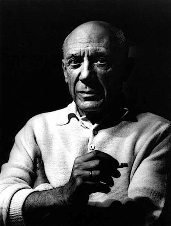 Lucien Clergue, Picasso, Cannes, 1956. © Coll. musée Réattu