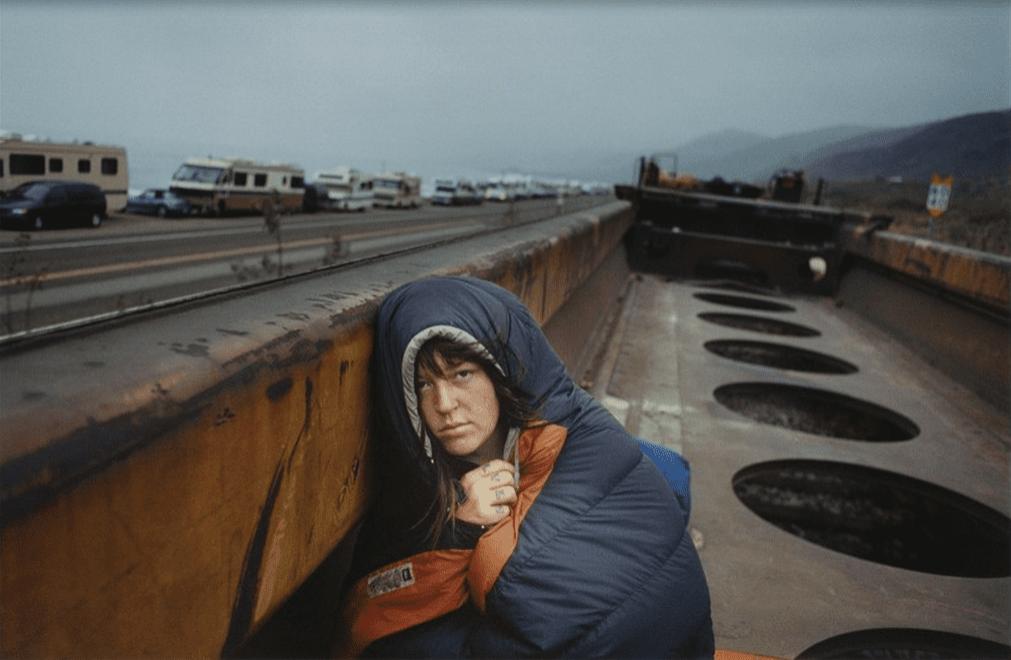 Mike Brodie, de la série A Period of Juvenile Prosperity, #1027 , 2006-2009 C-Print © Mike Brodie, Courtesy Yossi Milo Gallery, New York et Galerie Les filles du calvaire