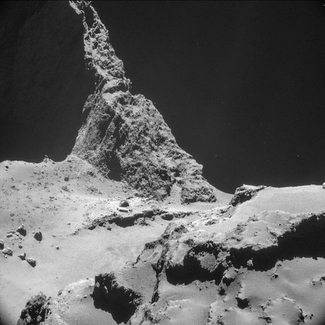 """NAVCAM top 10 at 10 km - 10"" © European Space Agency"