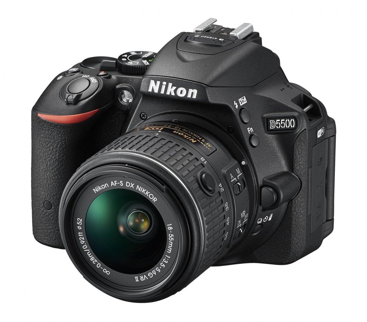 Le Nikon D5500