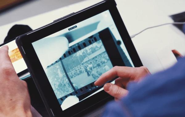 Fisheye Magazine | Comment lire ses négatifs sur une tablette ?