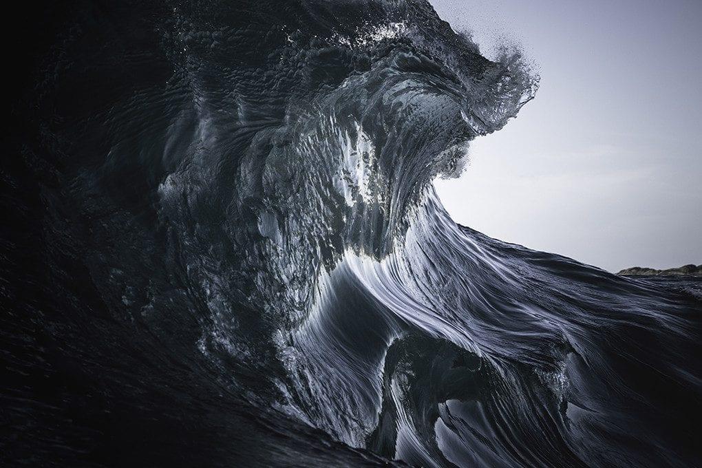 """Capture d'écran extraite de la vidéo """"Sea Stills"""" / © Ray Collins, 2014-2015"""