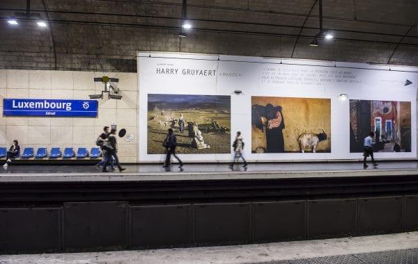 Fisheye Magazine | Harry Gruyaert dans le métro parisien