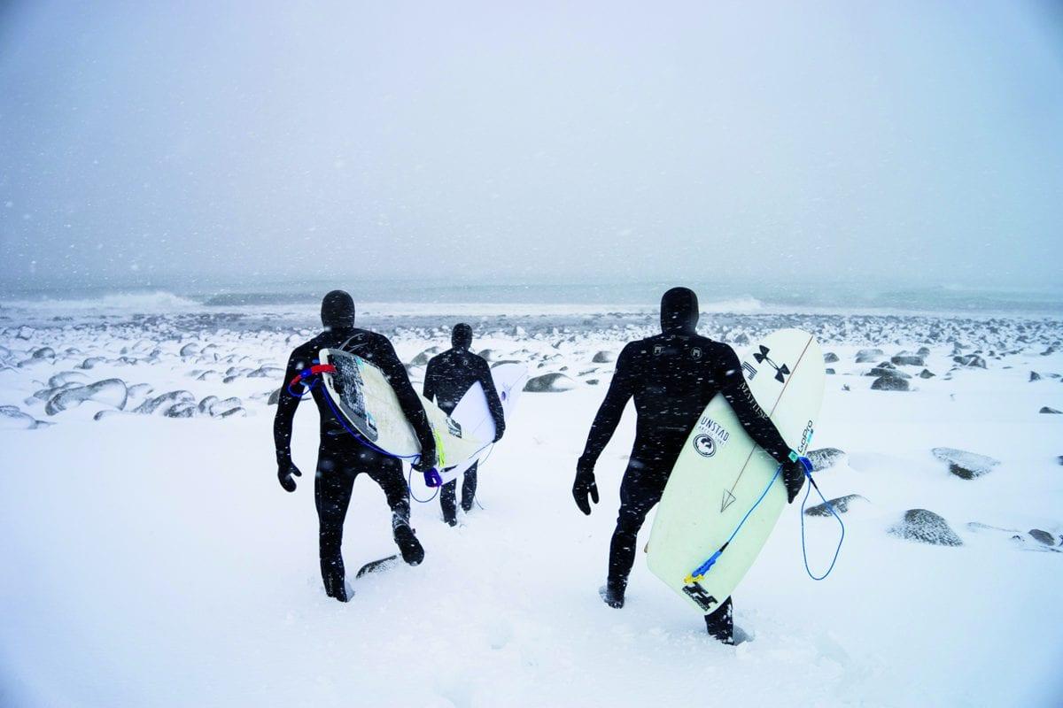 Norway, Winter, Surfing / © Chris Burkard, 2014