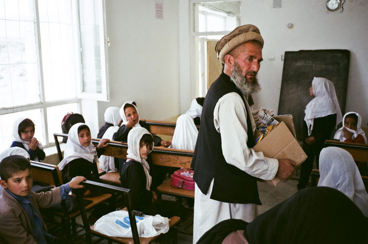 "Photo extraite du projet ""Yearbook Afghanistan"" / © Ruvan Wijesooriya"