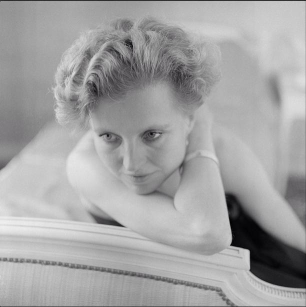 Hanna Schygulla par © Xavier de Lambours / Compte Instagram de Signatures Photographies