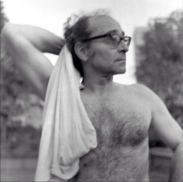 Jean Luc Godard par © Xavier de Lambours / Compte Instagram de Signatures Photographies