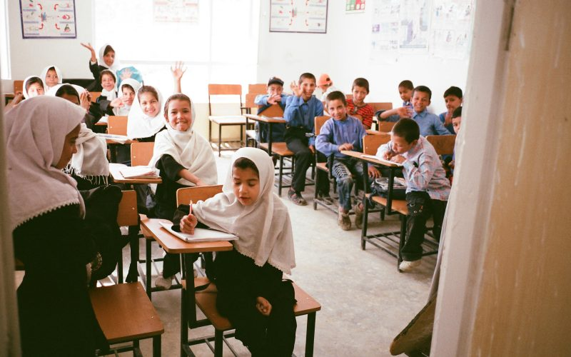 Fisheye Magazine | Sur les bancs de l'école en Afghanistan