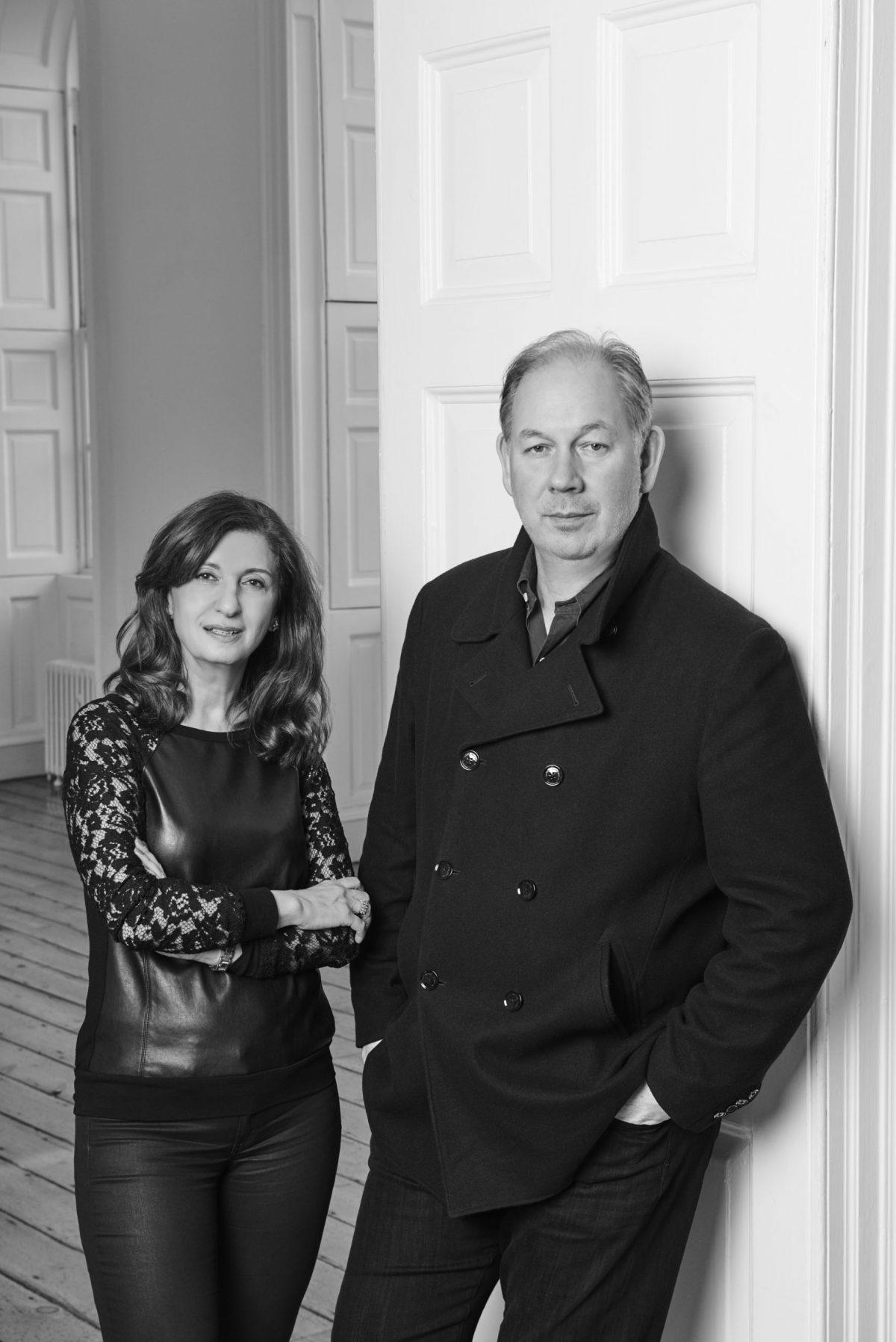 Michael Benson & Fariba Fershad © Philip Sinden / Photo London