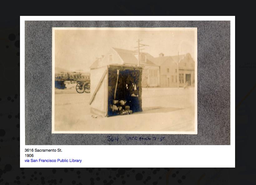 Capture d'écran du site OldSF.org / © Dan Vanderkam