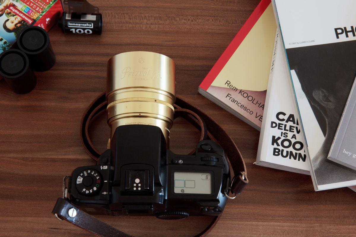 Objectif Petzval 58 avec contrôle de bokeh / Lomography