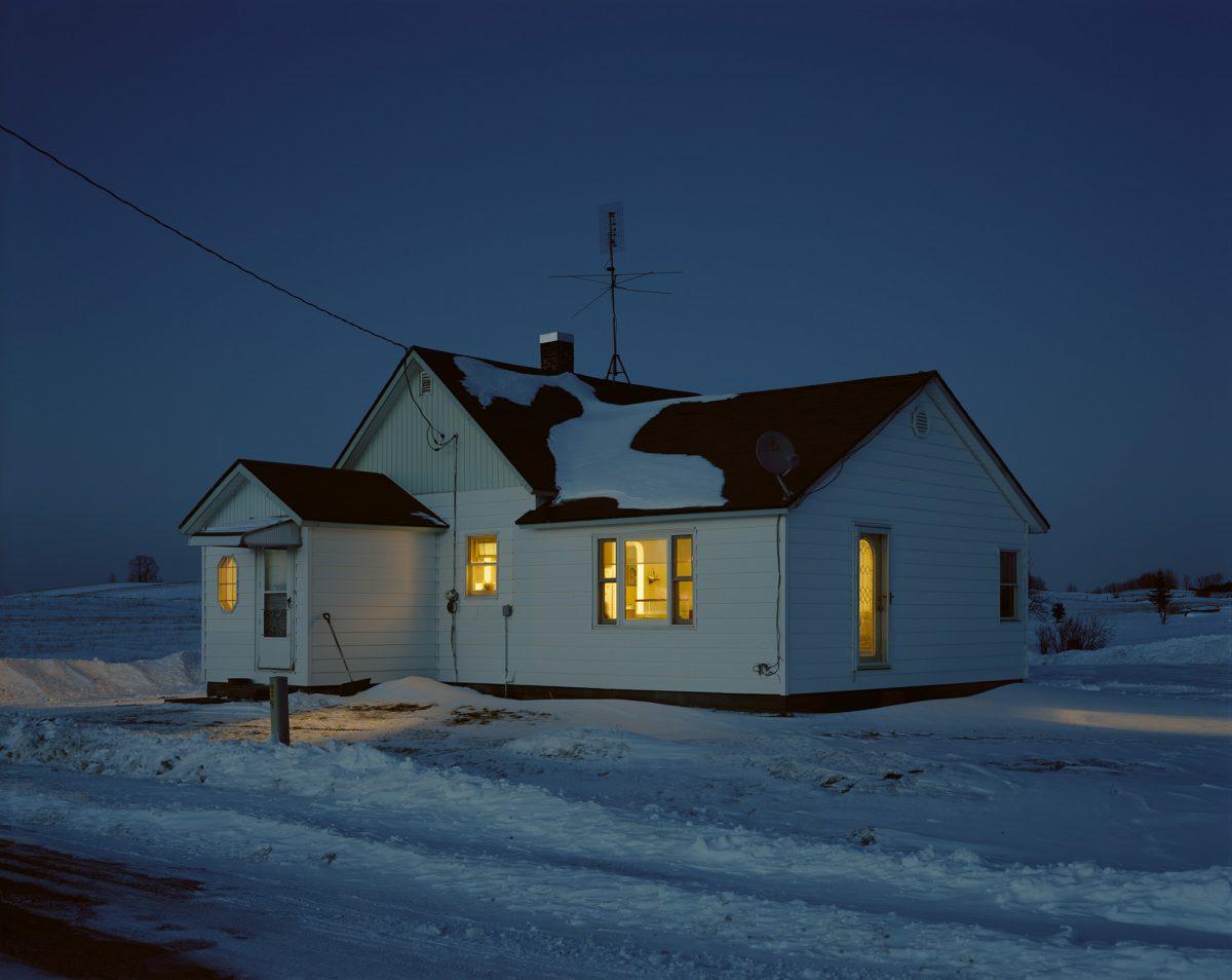 "Image extraite de la série ""On Wisconsin"" / © Mark Brautigam"