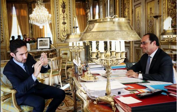 Fisheye Magazine | François Hollande est sur Instagram