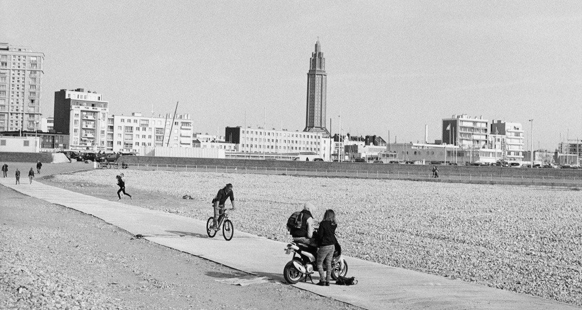 Fisheye Magazine | Le Havre en noir et blanc