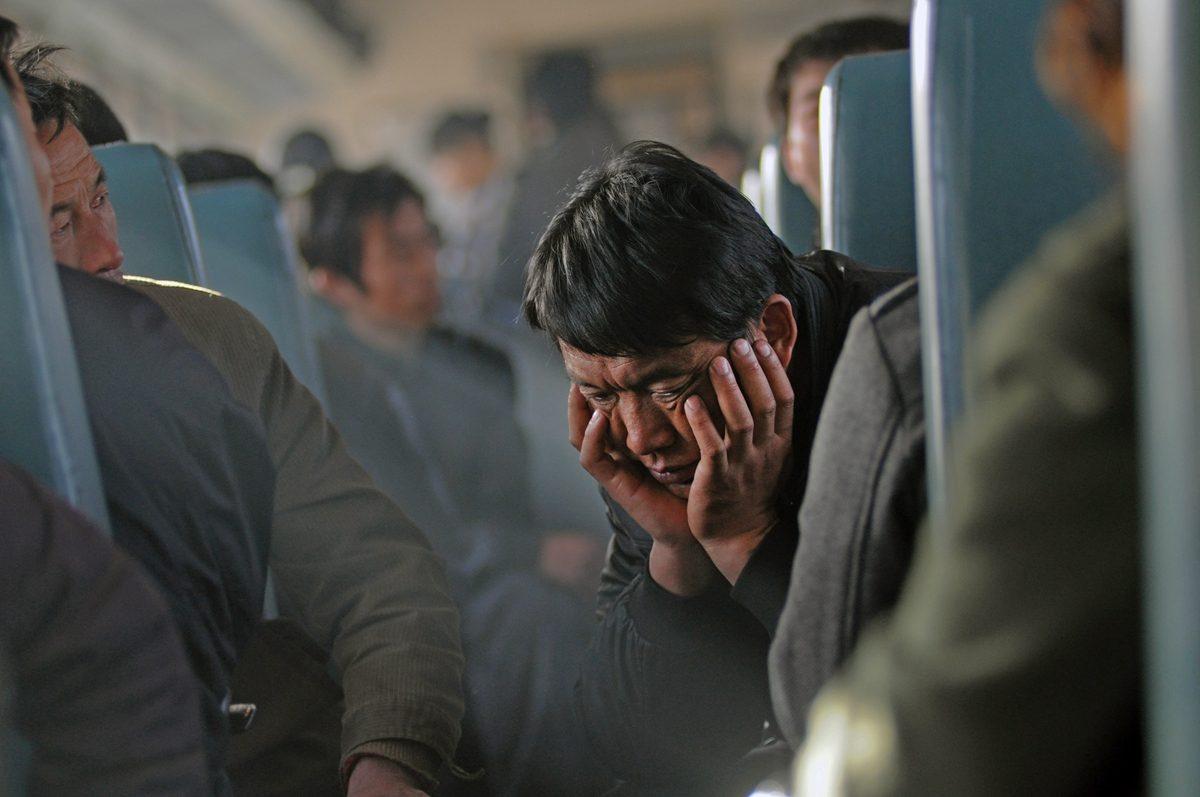 """Extrait de la série """"The Green Train """", © Quian Haifeng"""