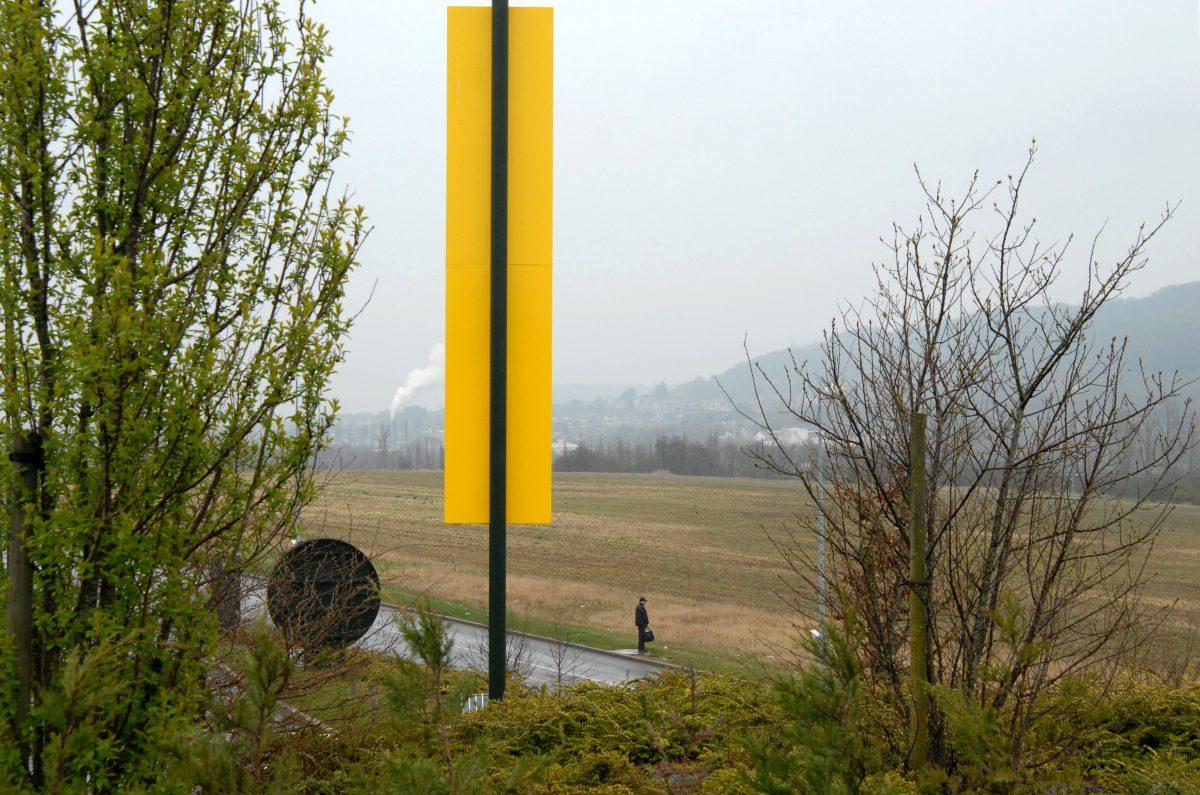 Sur la ligne transfrontalière, entre la France et le Luxembourg