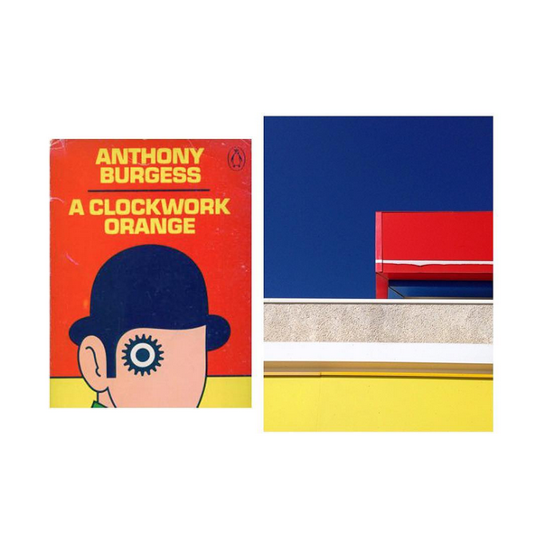 """Orange mécanique"", Anthony Burgess / © Tamara Eda Temucin, Miguel Di Montano, Instagram"