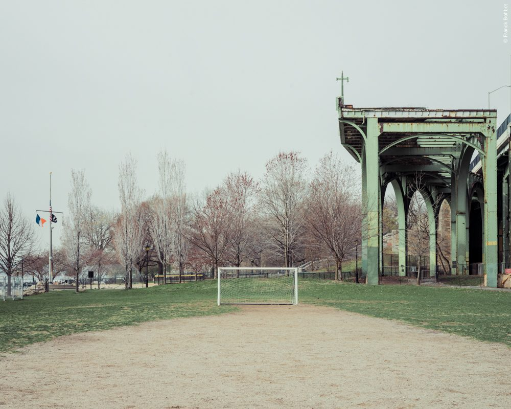 Soccer field, West Side Highway, New York, NY, 2014