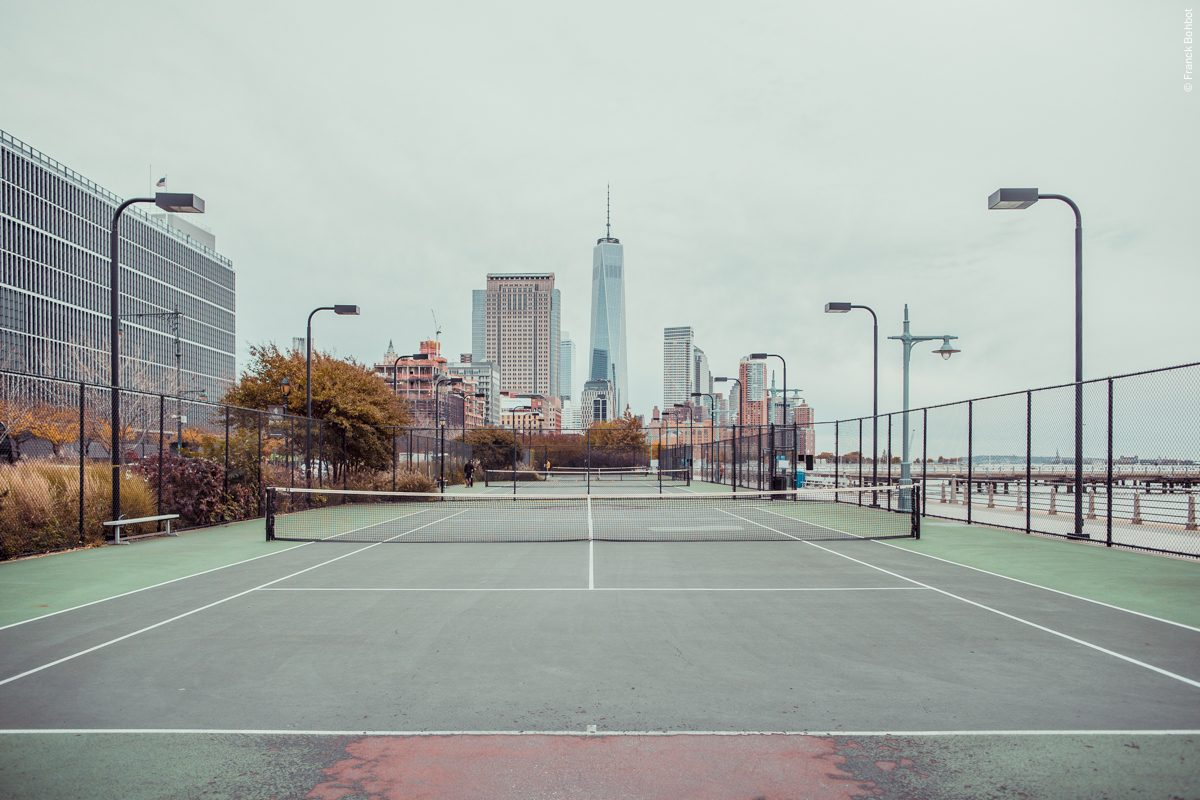 Tennis Court Hudson River Park, New York, NY, 2014