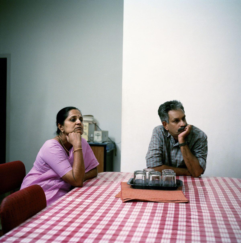 "Image extraite de série ""Watching TV"" / © Olivier Culmann"