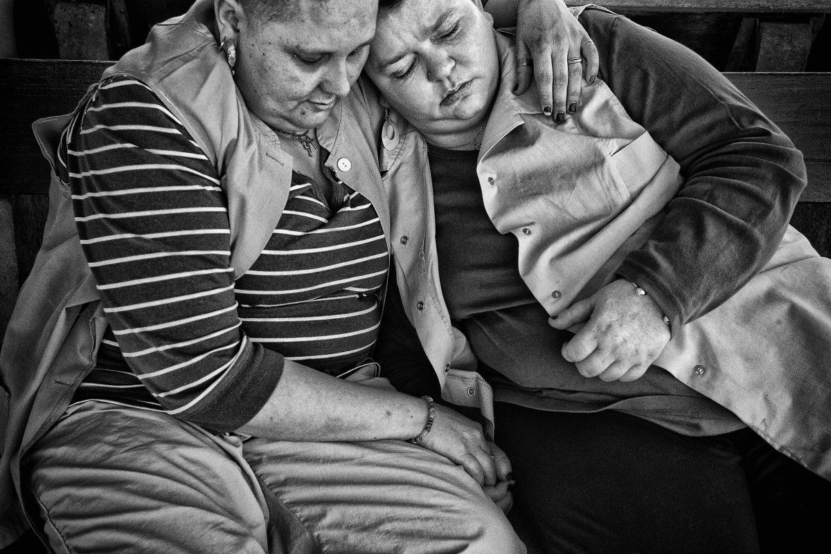 """Extrait de """"D'Entre Eux"""" © Cédric Gerbehaye / Agence VU"""